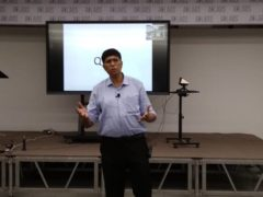 Mr. Deepankar Sinha Speaks about an event