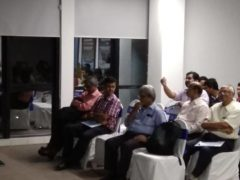 Prof Bagchi Speaks about an event on Social Media risk analysis at AILABS